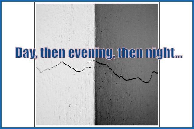 day evening night