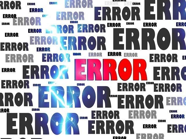 misunderstand error
