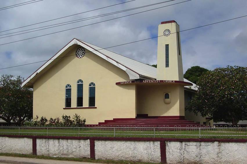 SDA-church architecture