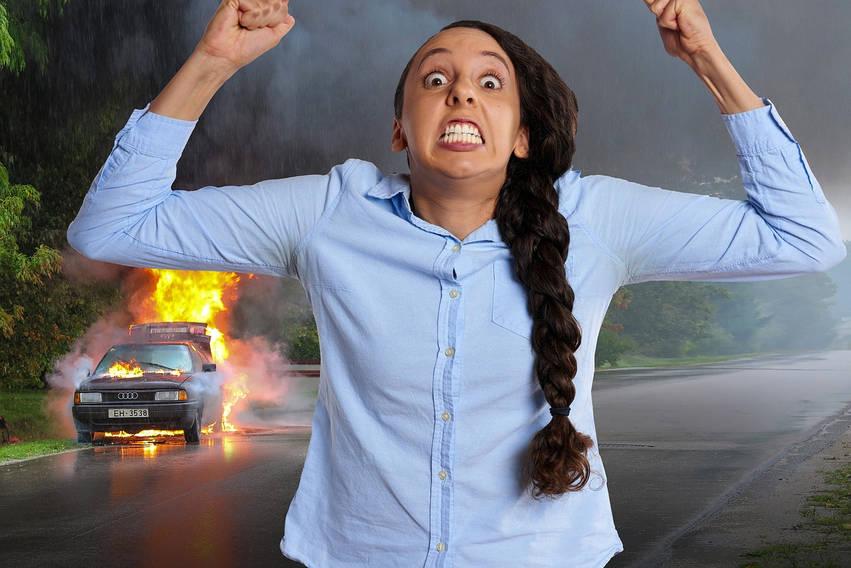 girl angry crazy mayhem