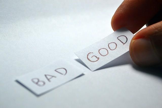 choose good or bad
