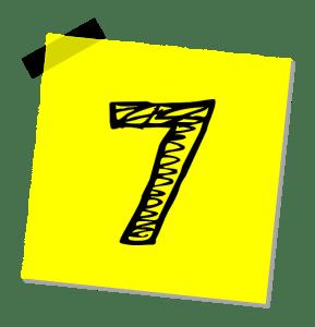 seven yellow paper