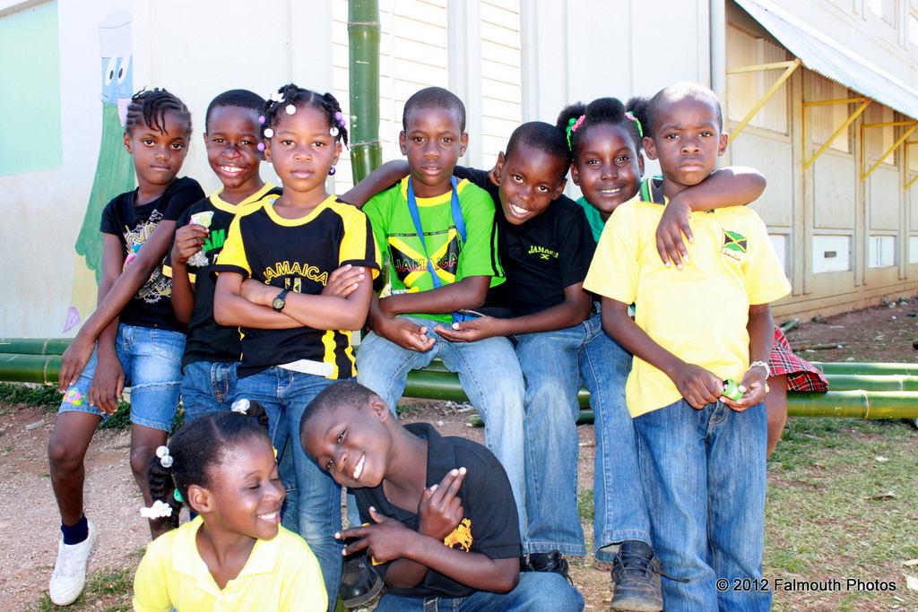 Jamaican Israelite children hidden