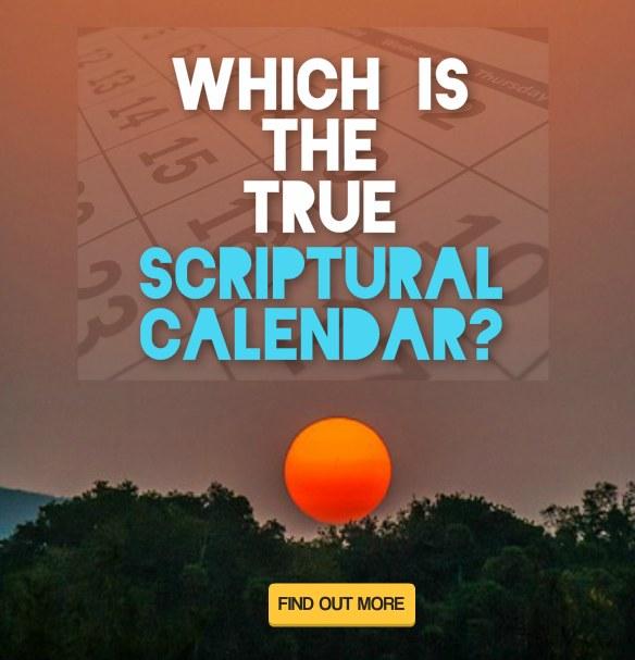 true scriptural calendar banner