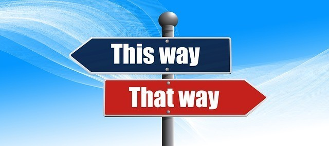 decisions - this way - that way