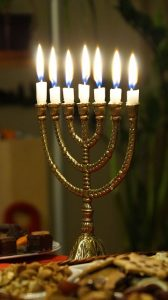 hebrew menora