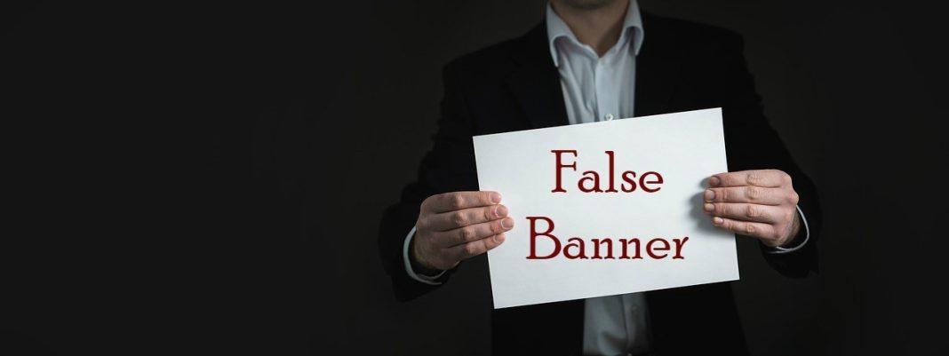false banner - false messiah