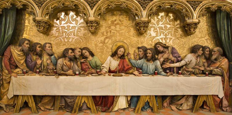 false messiah last supper