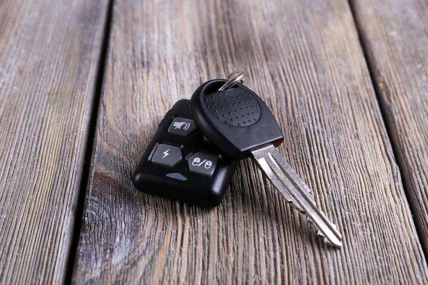 car keys home table
