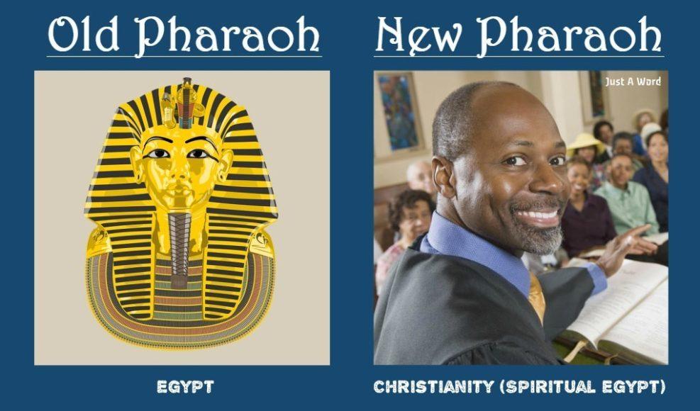 Egypt Pharaoh Old Christian Pastor New