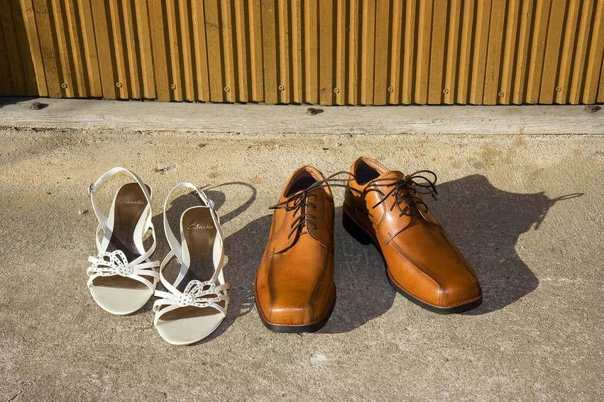 wedding shoes-male-female