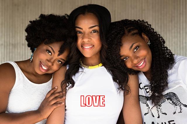 three girls in white walk in love
