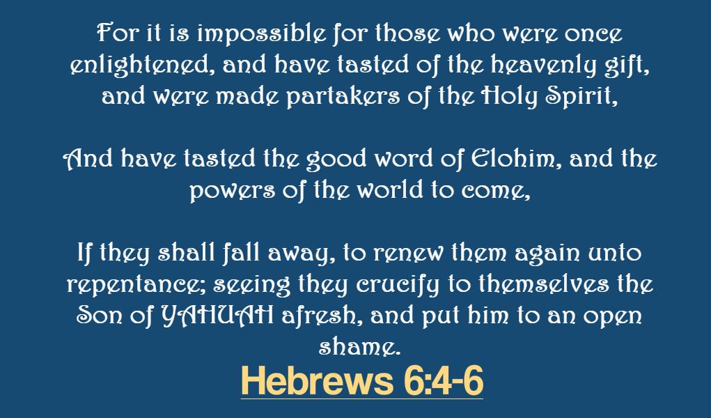 Hebrews 6-4-6