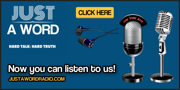 Just a Word Radio Promo 600x300