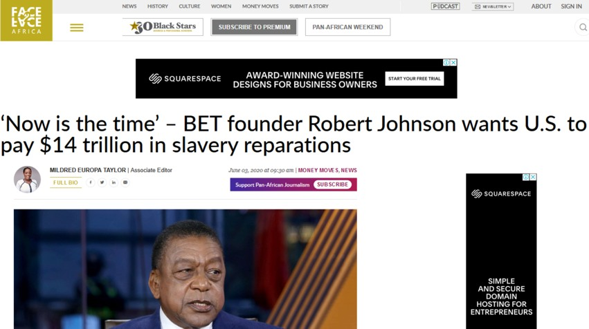 Now is the time reparations 14 trillion