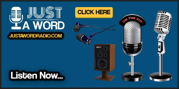 Just a Word Radio Promo 600x300 banner